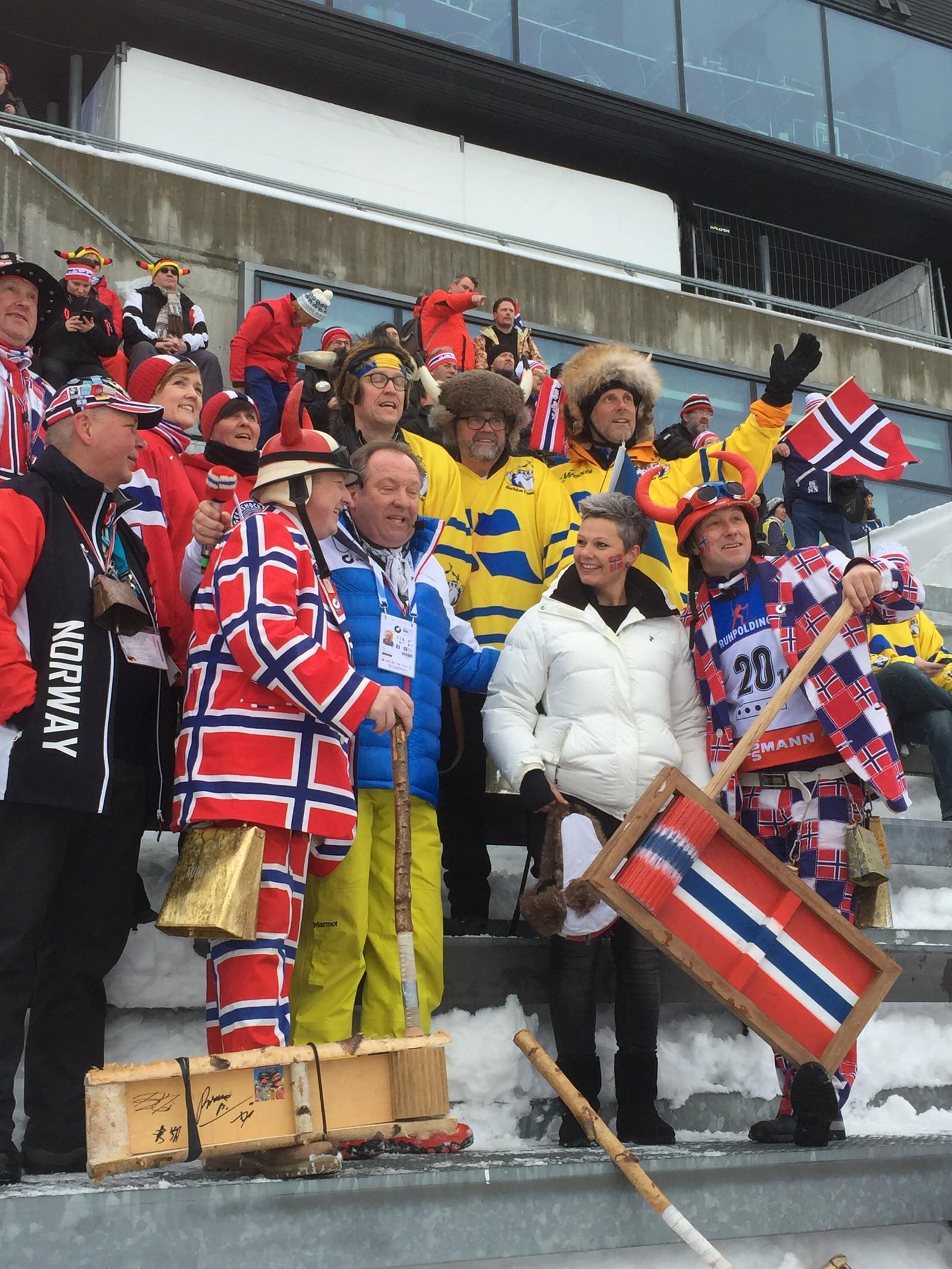 Scandinavian supporters
