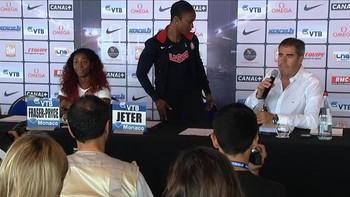 Hun ville ikke svare på spørsmål om doping. Se bildene her.