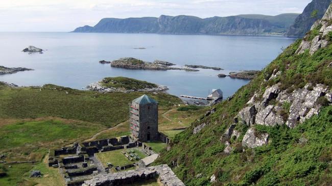 Selje kloster. Janne Gårdsvoll Vatne.