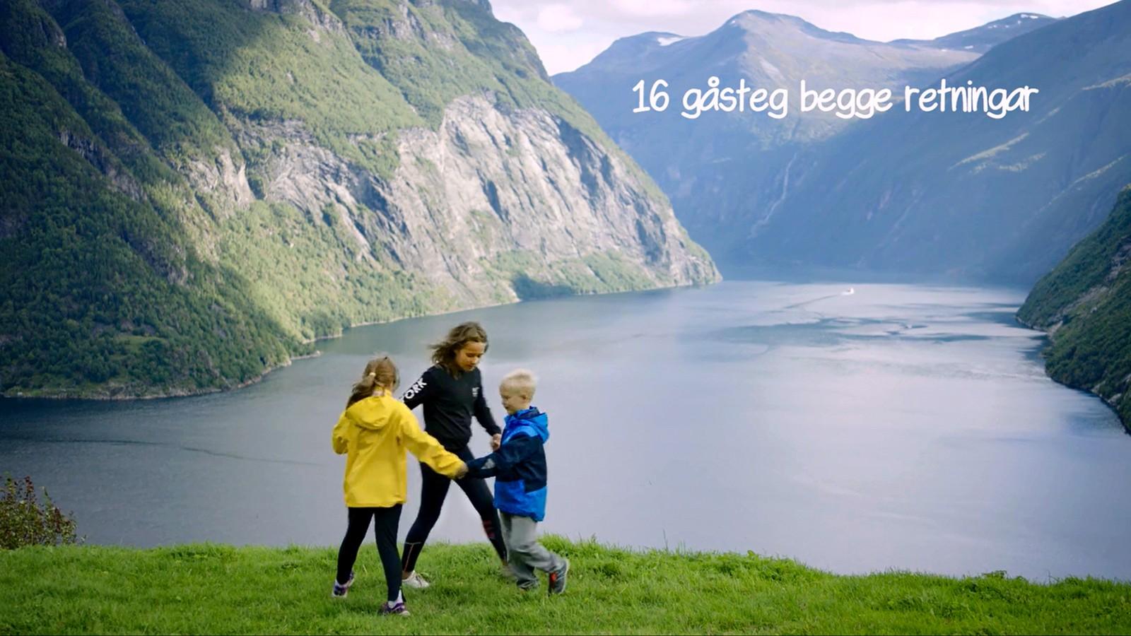 Videoane har instruksjonar både i ord og tekst. Her frå Ljøen ved Hellesylt på Sunnmøre. Biletet er frå ein av filmane som kjem på Noregs Ungdomslag sitt «Folkepedia».