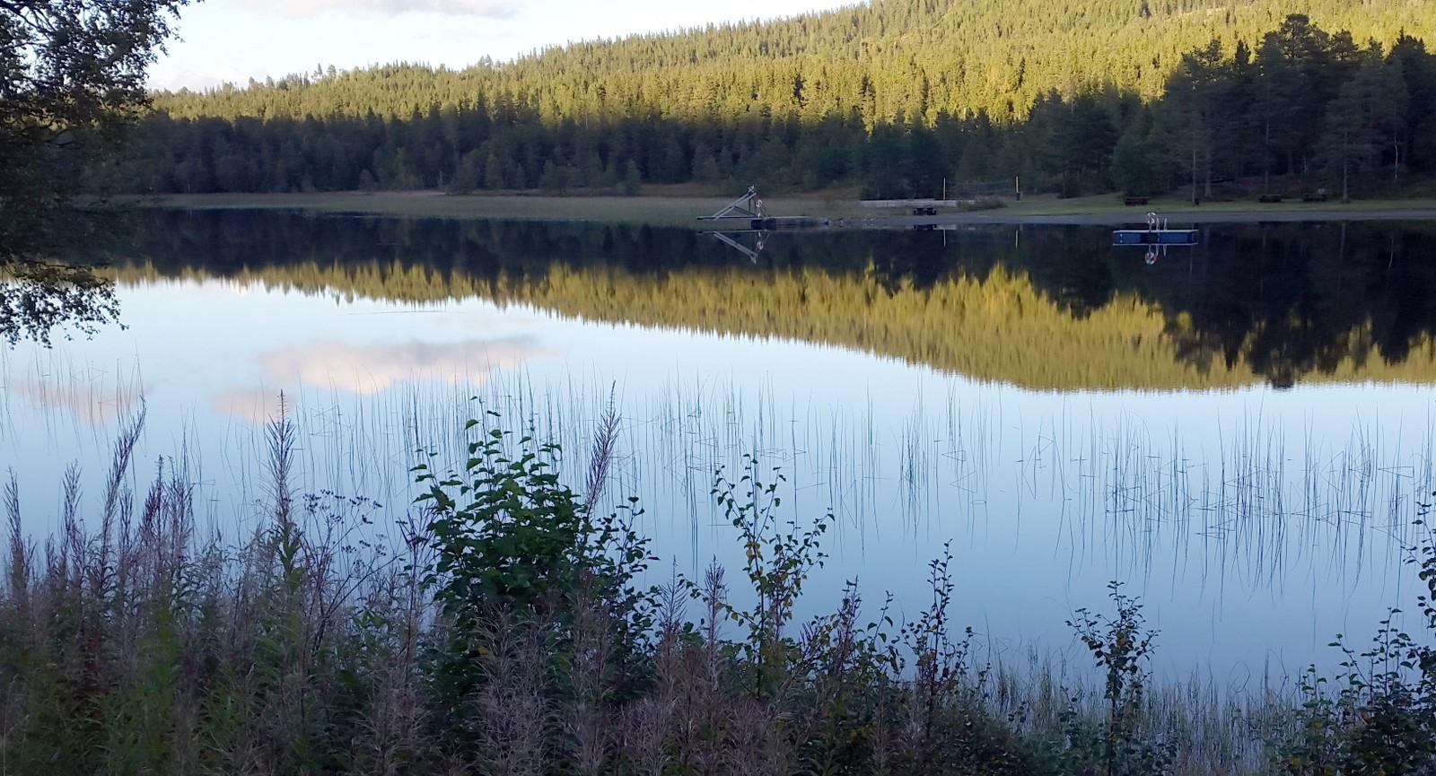 Badeplassen ved Buvatnet, Berkåk