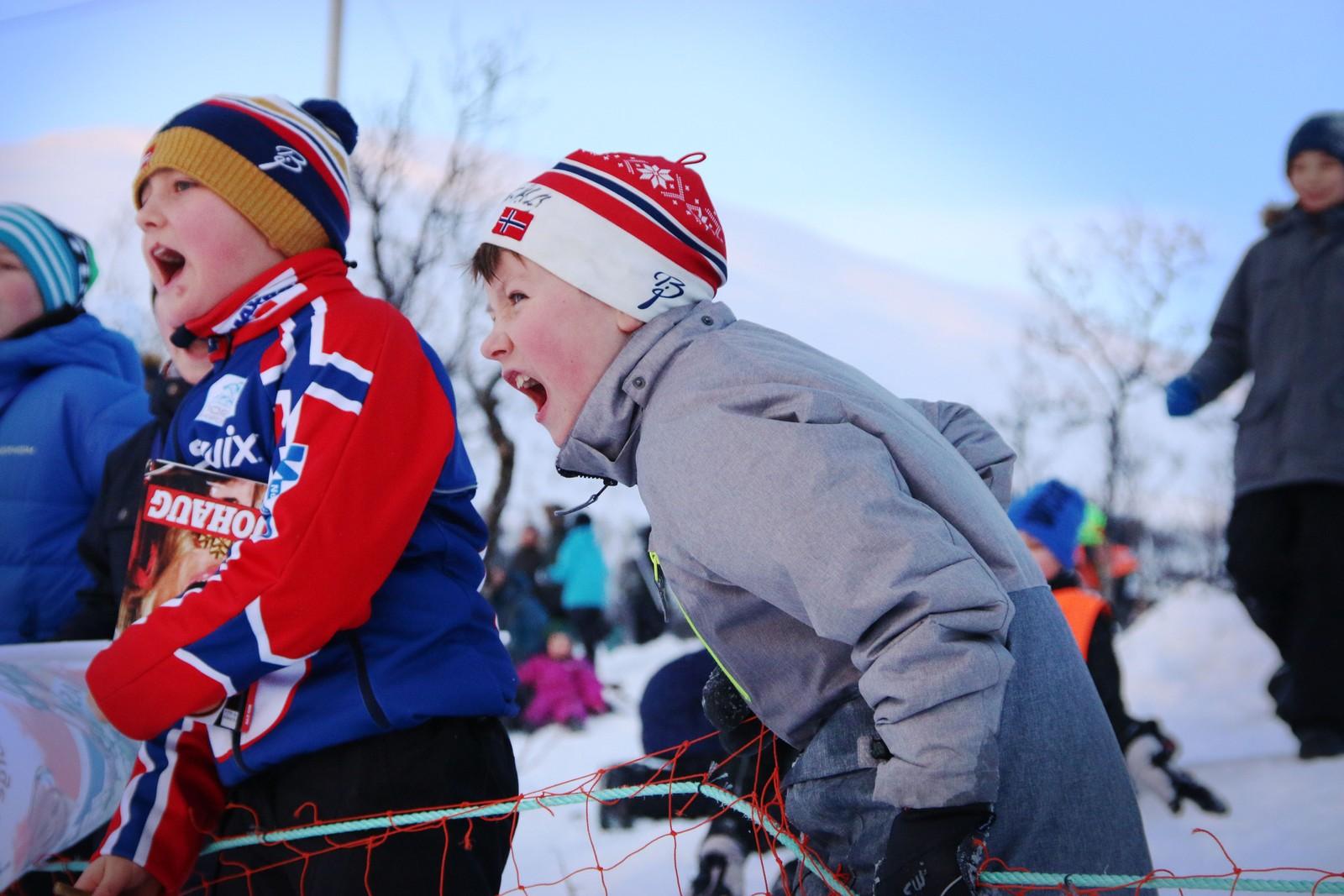 Jonas Skogstad (til venstre) og Olav Møller la ingenting imellom da de heiet under NM-sprinten.
