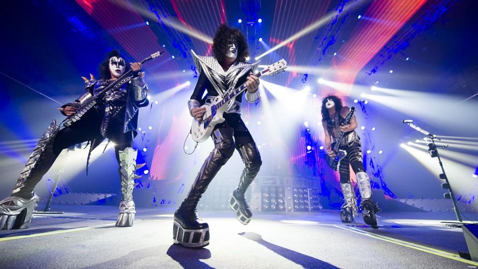 Kiss rocker Vegas