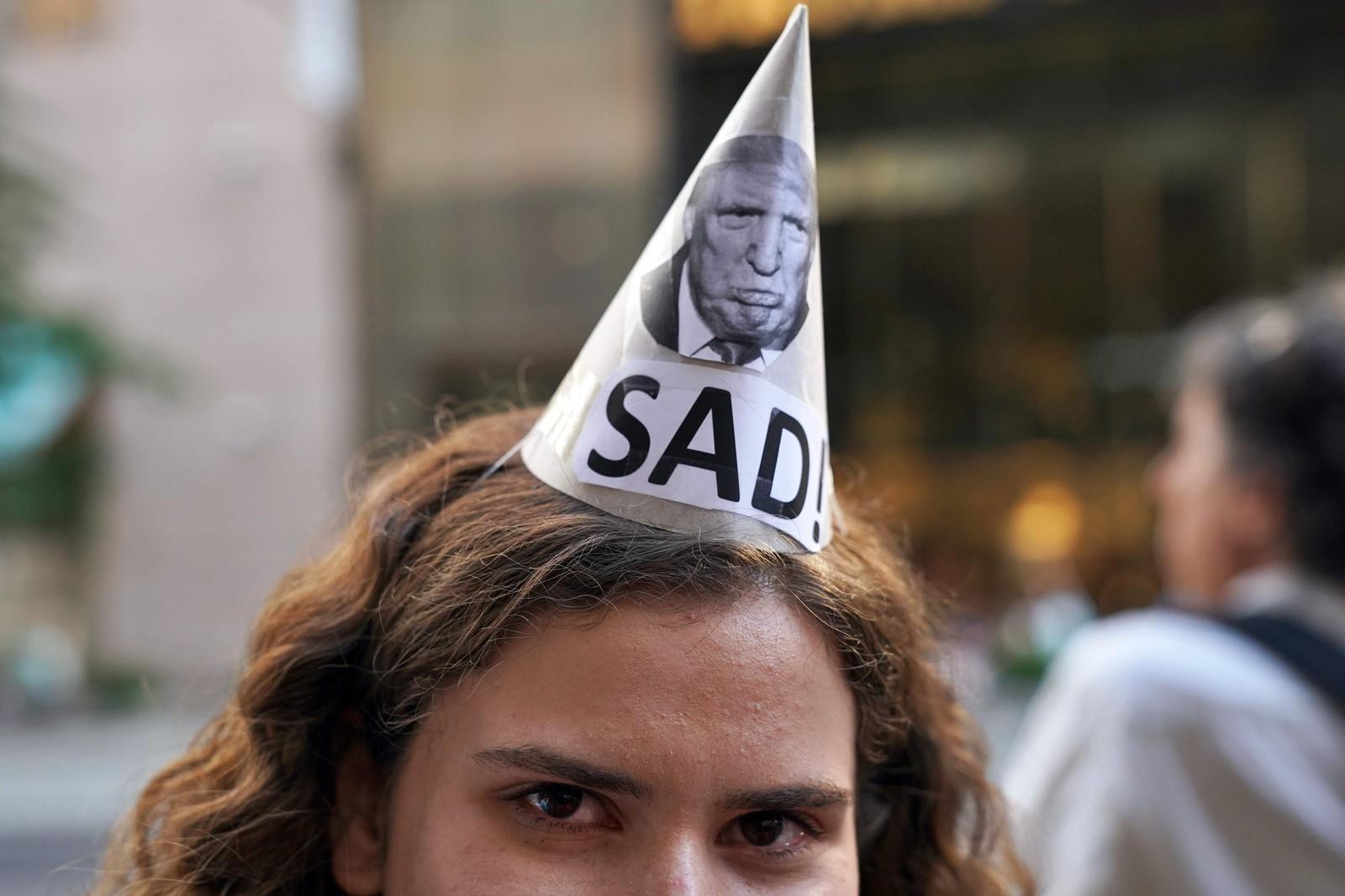 President Donald Trumps bursdag ble feira på denne måten i New York denne uka