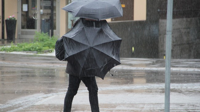 Dobbel paraply