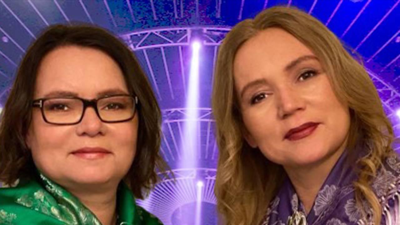 Eira joavku, Anne IE Lilleng ja Marit E Eira, searva lávlagiin «Máilmmi nieida.»