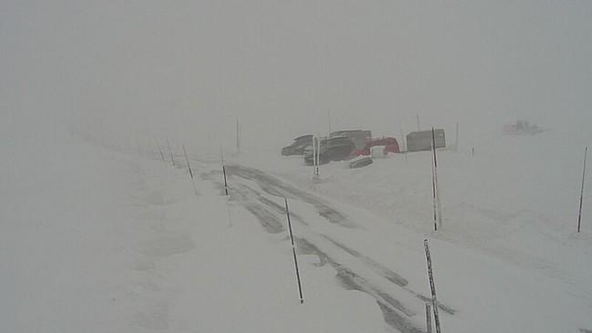 Riksveg 5 over Hardangervidda
