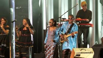 Amadou og Mariam på Nobelkonserten.