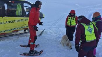 Lavinetrening i Sogndalsdalen