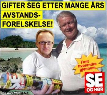 Hagen og Nelvik gifter seg