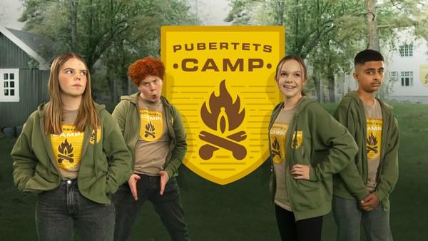 Velkommen til det flaueste sted på jord, PubertetsCamp! Her blir det svettestank, mensenflekker, kviser og alt som hører puberteten til.