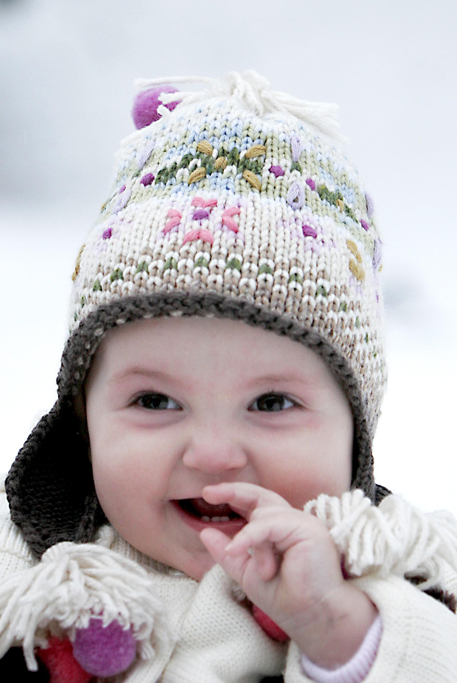 1 ÅR: Ein blid 1-åring i januar 2005