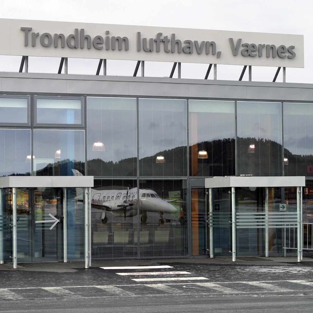 Trondheim lufthavn Værnes Lusparken Arkitekter AS