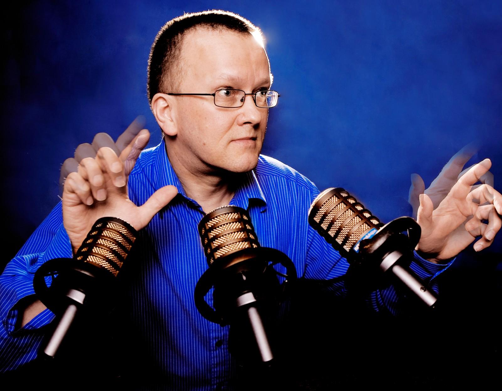 Helge Raftevold, programleder for Ønskekonserten