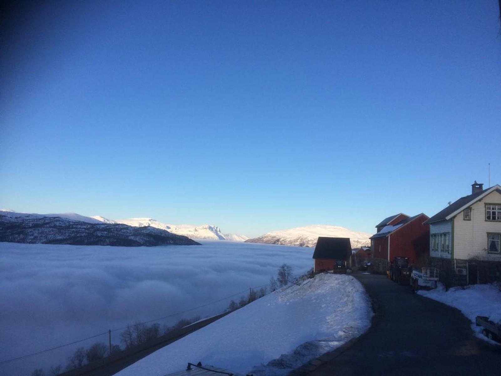 Fjellkårstad - 515 meter over havet.