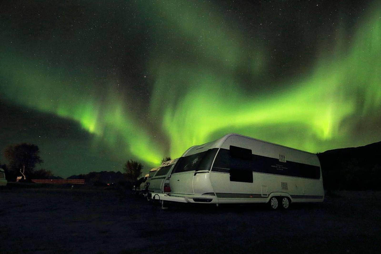 Geitvågen Camping i Bodø.