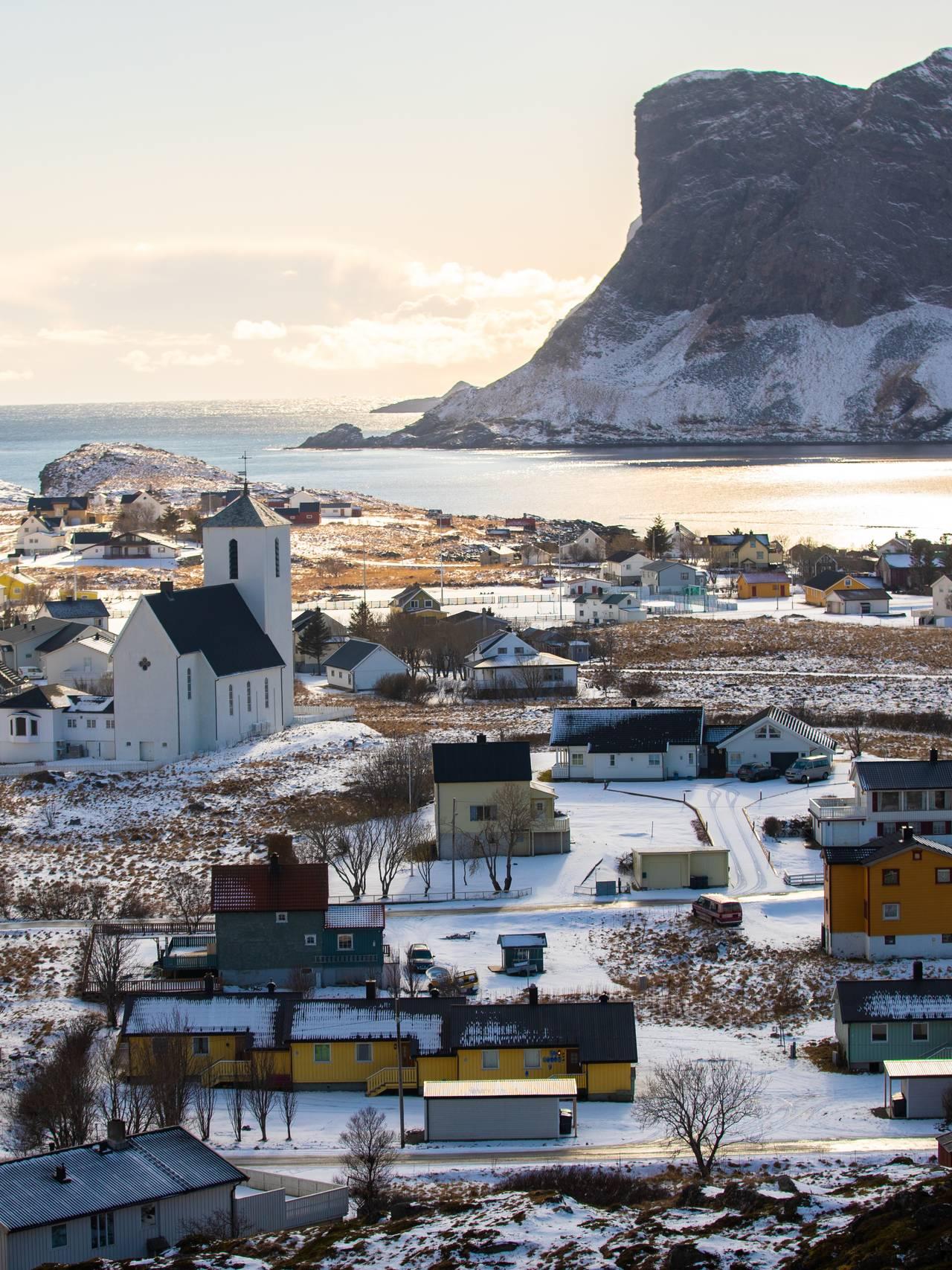 Værøy i Lofoten.
