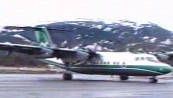 Ulykkesflyet som krasjet Torghatten 1988