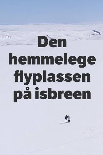 To personer på isbre
