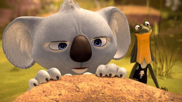 Saman med vennen Jacko er Blinky Bill alltid klar for eit vilt eventyr for å beskytte innbyggjarane i Grønnlapp. Australsk animasjonsserie.