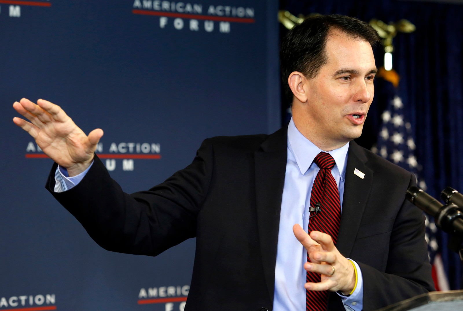 Wisconsin-guvernør Scott Walker