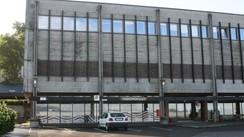 Vinmonopol-utsalet i Firda Billag-bygget. Foto: Kjell Arvid Stølen, NRK.