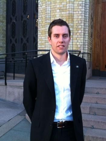 Stortingsrepresentant Petter Skovholt Gitmark.