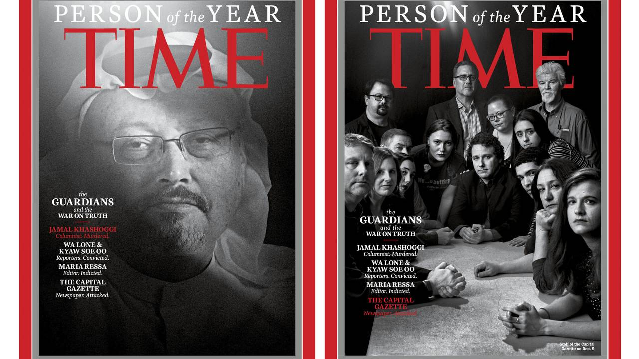 Time årets person 2018