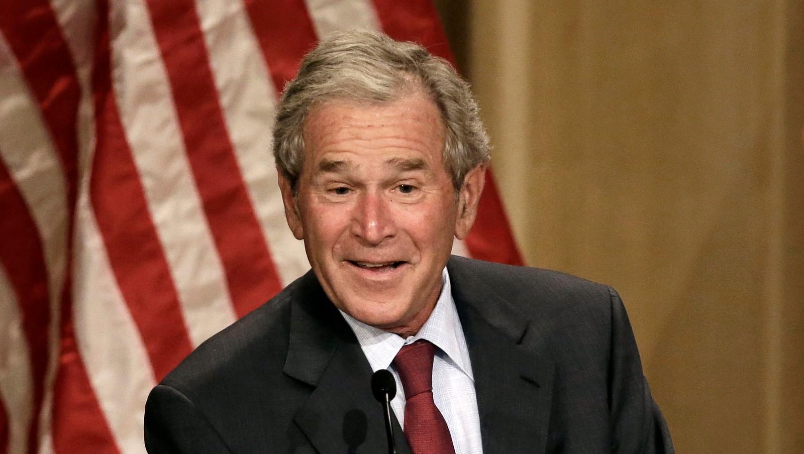 Bush werd geboren in de staat Connecticut als eerste kind van George HW Bush en zijn vrouw Barbara Bush Toen hij twee jaar oud was verhuisden ze naar de staat Texas