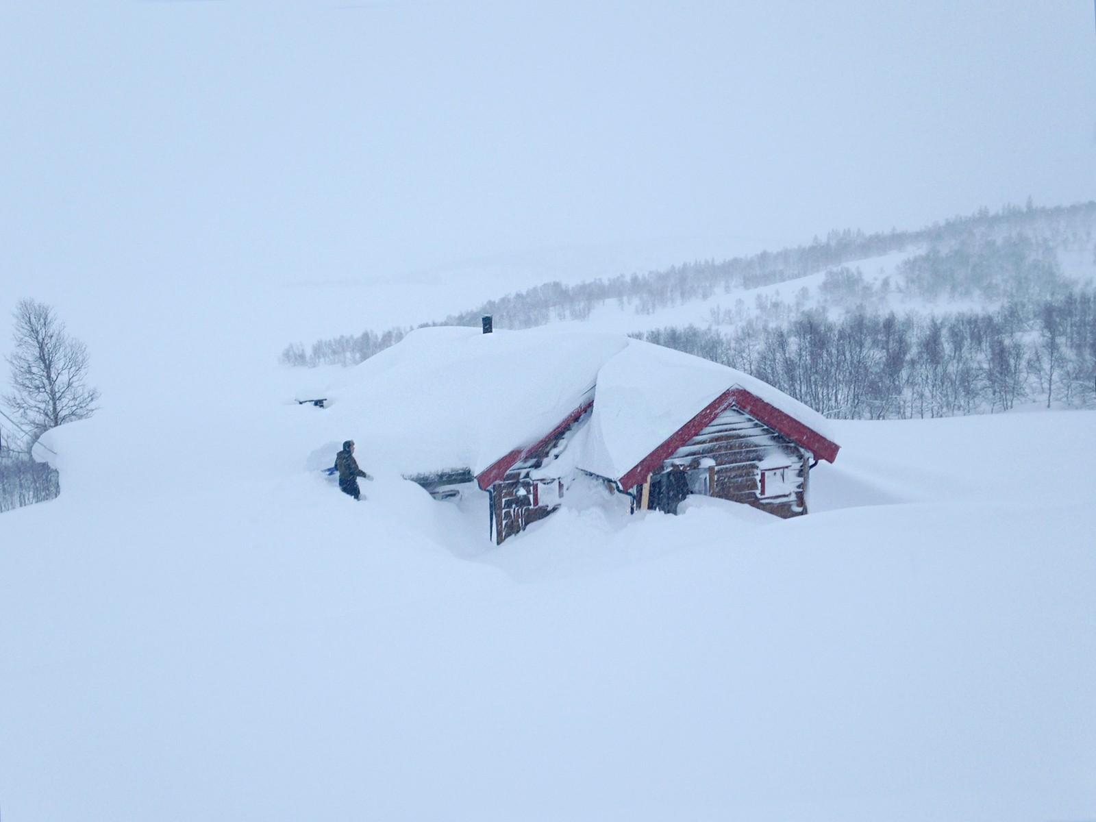 15 innbyggere i Bjåen har vært isolerte i fire dager.