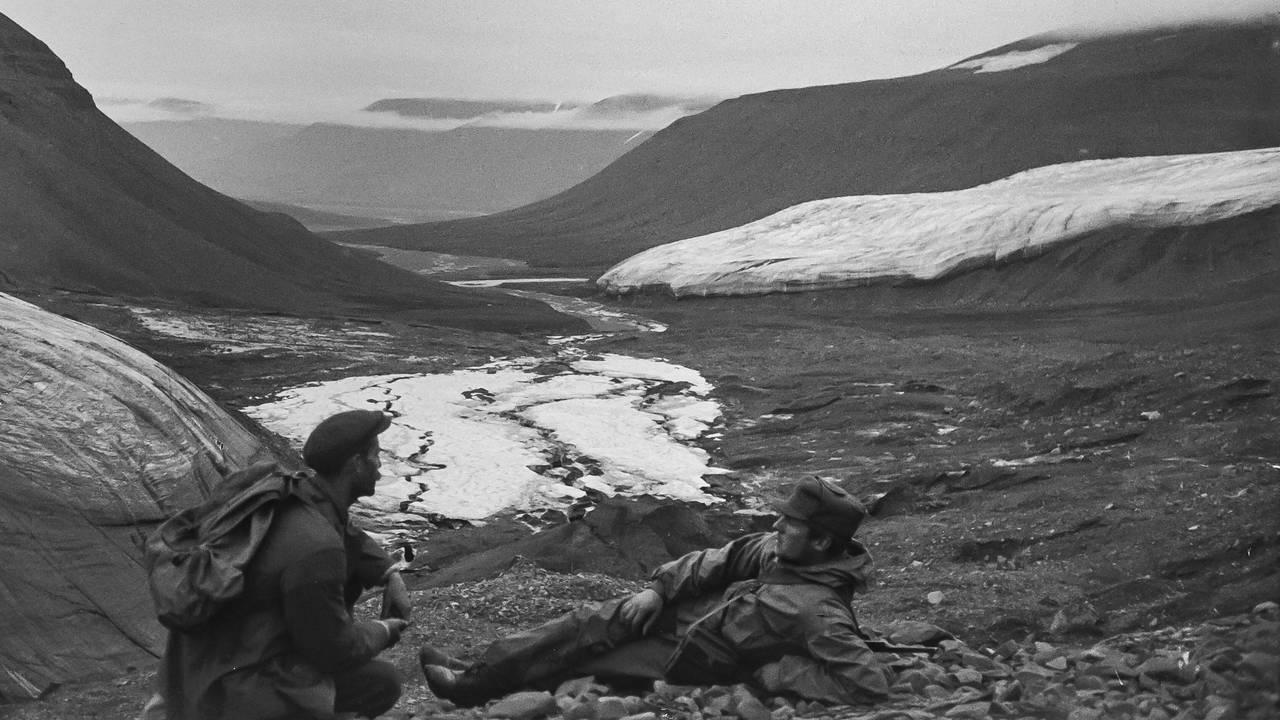 Boldterdalen på Svalbard 1916