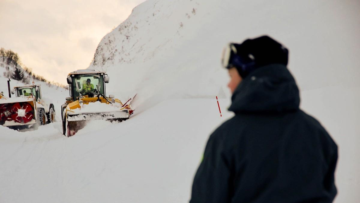 Mens Sør-Norge drukner i snø, feies det i nord