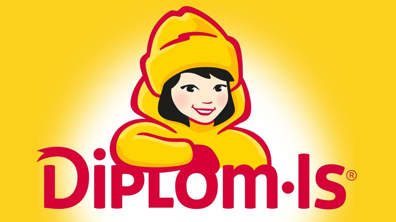 diplom is med ny logo