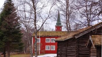 Dosltad kirke og Vefsn museum
