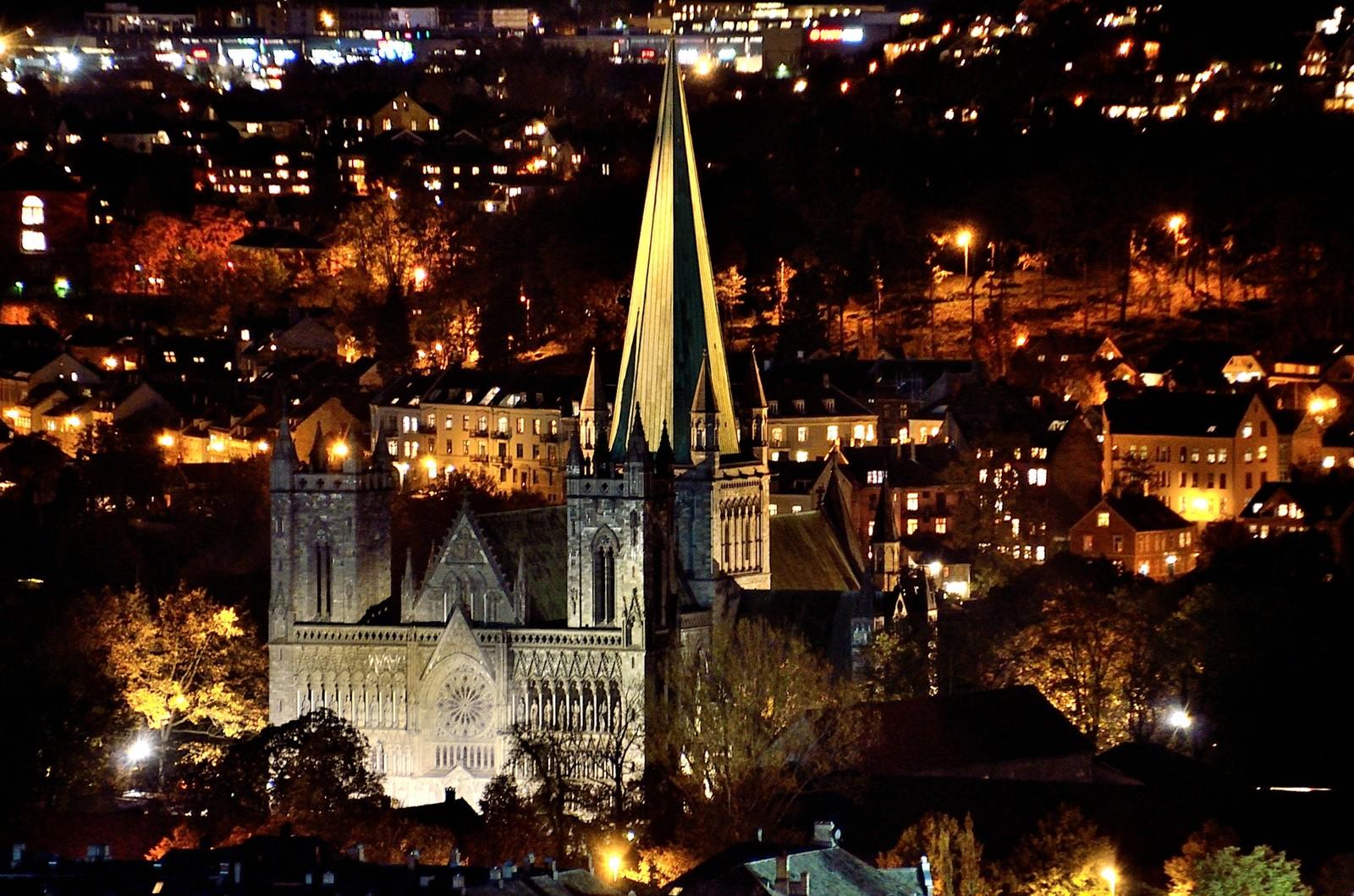 Trondheim havner på 4. plass blant de utenlandske turistene.