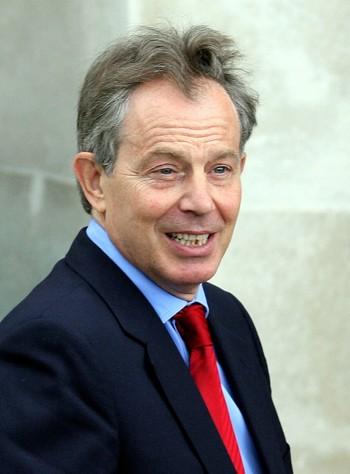 Harde dager for Tony Blair