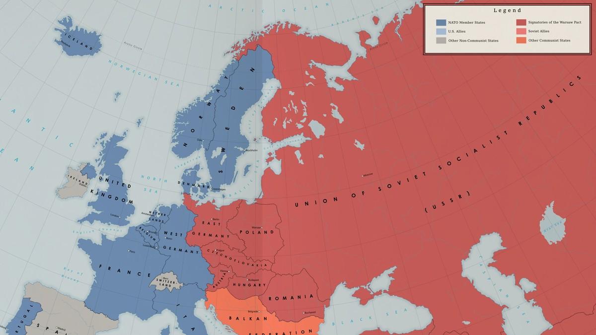 sovjetunionen kart Dansk lærebok oppga Nord Norge som en del av Sovjetunionen – NRK  sovjetunionen kart