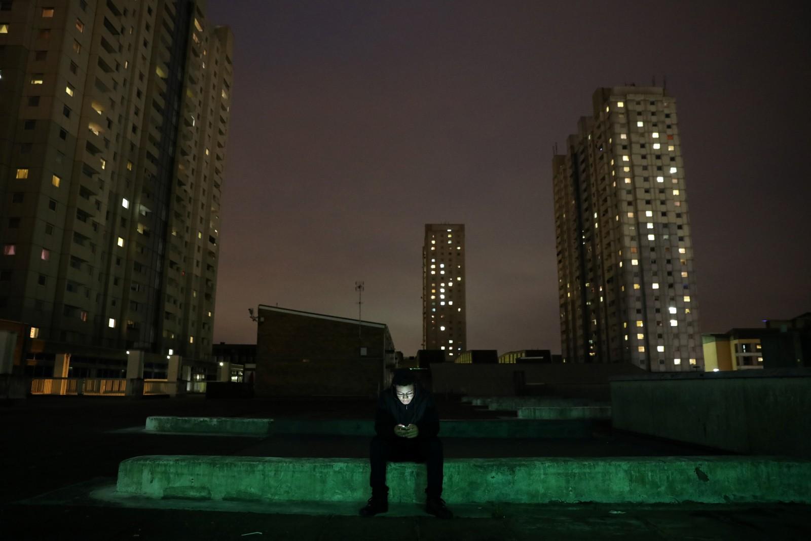 Grime-musikk kjennetegnes av raske rytmer i en blanding av blant annet dancehall og hip hop. Grime-artister som Stormzy og MC Squintz (bildet) er i ferd med å bli store navn innen sjangeren.