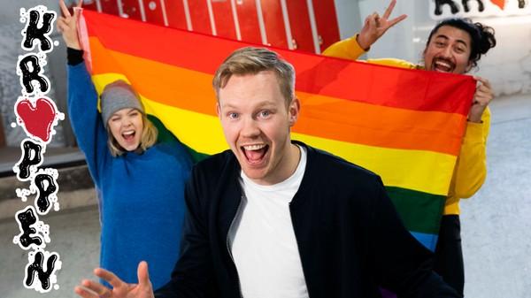 Lykkelig homofil sex