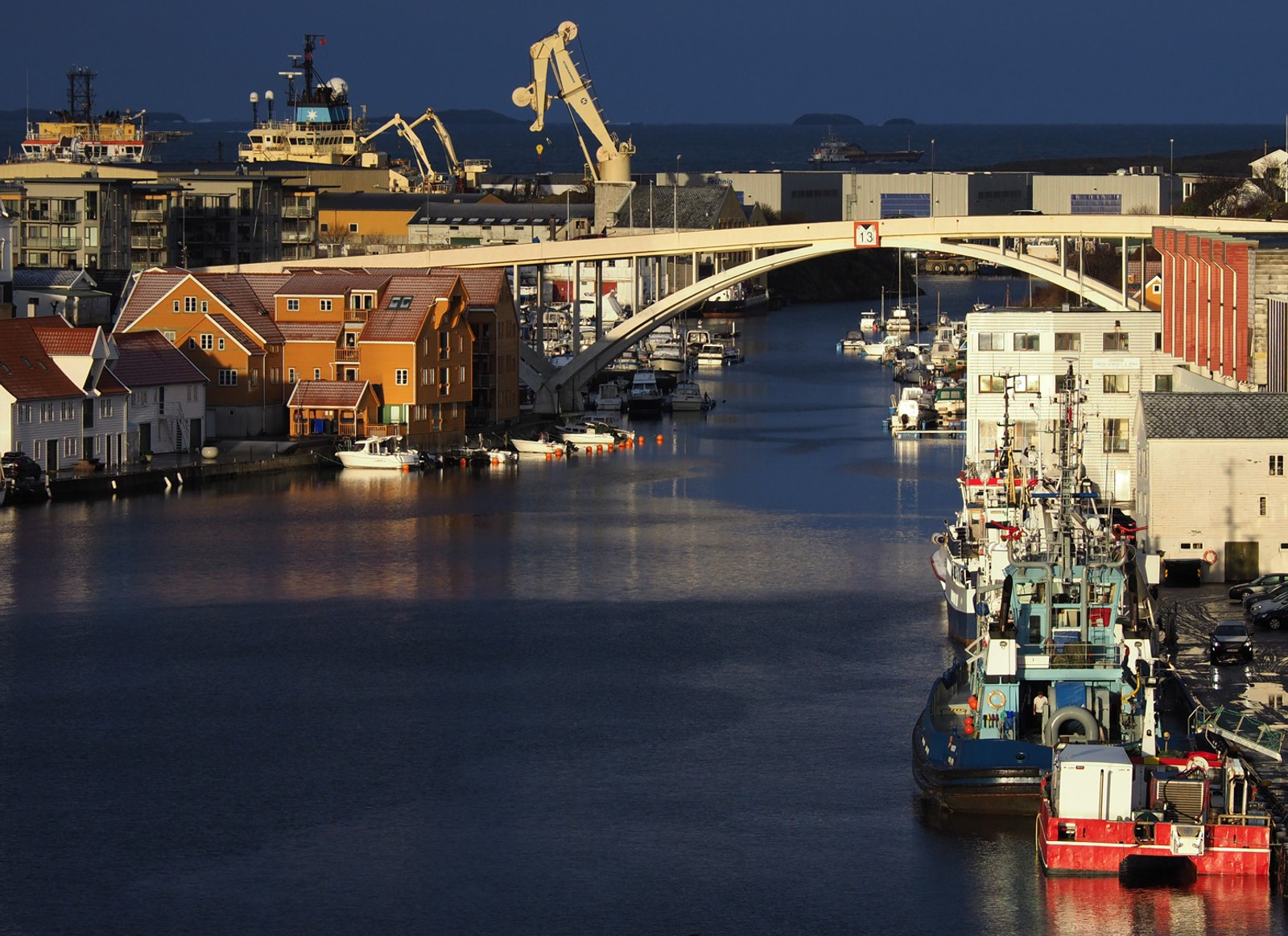 Smedasundet i Haugesund.