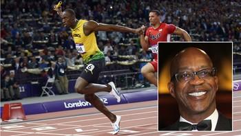 Usain Bolt og Edwin Moses