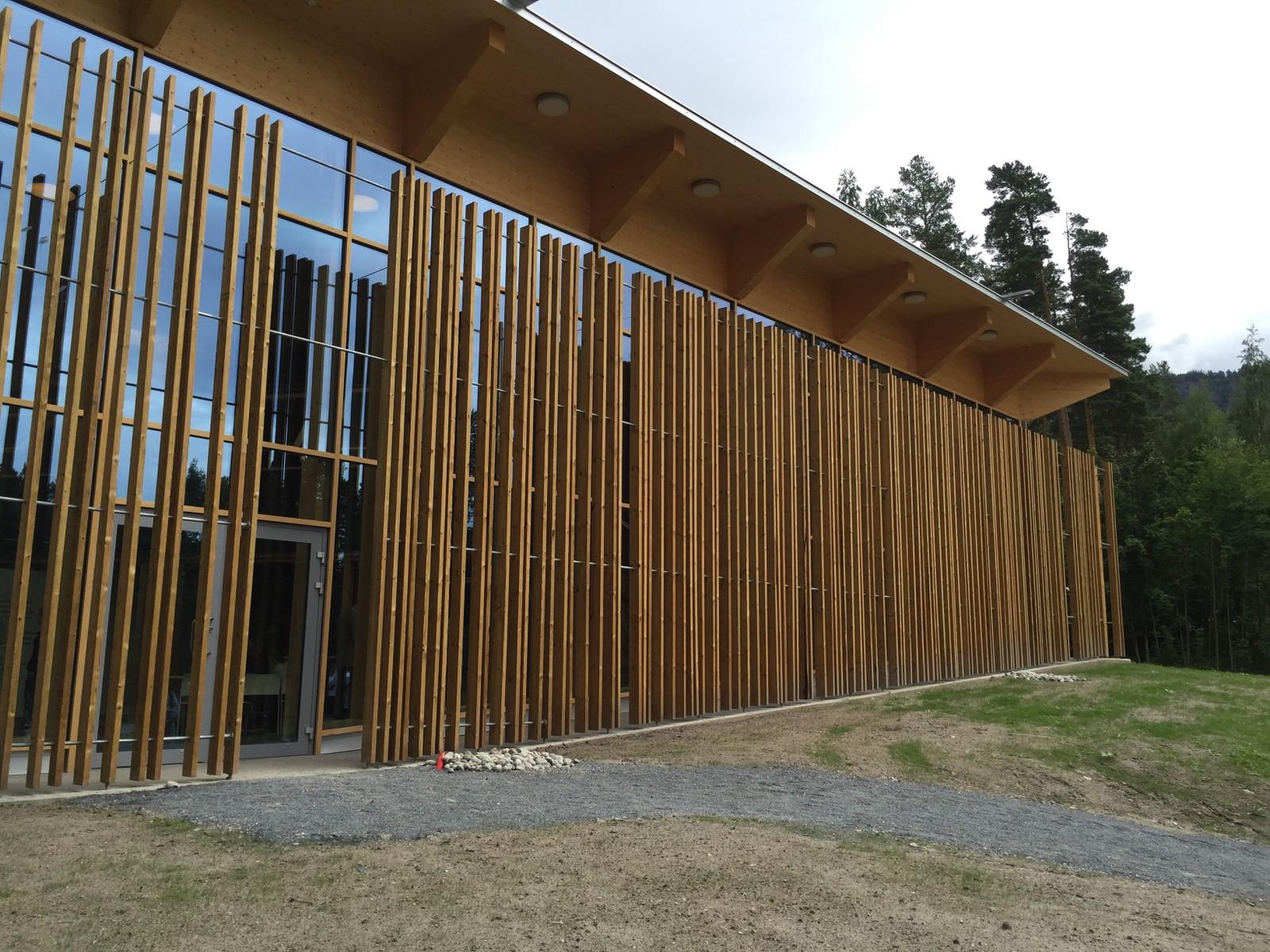 Det nye læringssenteret på Utøya, Hegnhuset, ble presentert tirsdag formiddag.