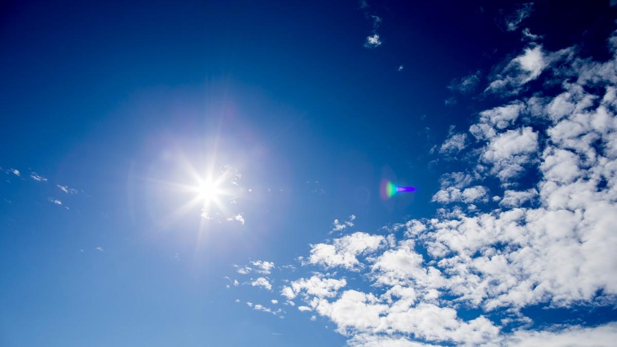 SOLGLIMT: Temperaturene begynner å stige i Sør-Norge fra onsdag av, og forhåpentligvis skinner sola også!
