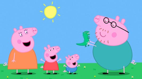 Britisk animasjonserie om Peppa gris og familien hennes.