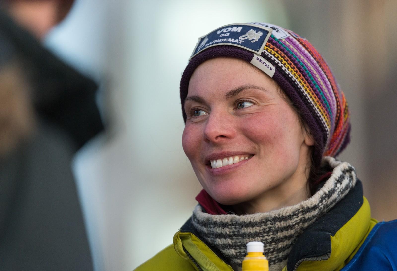 Sånn ser Sigrid Ekran ut etter å ha kjørt 1100 kilometer en uke i sol og storm.
