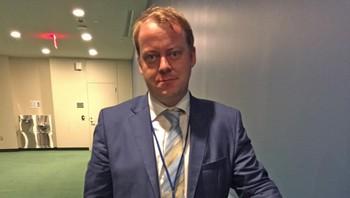 Erlend Wiborg forlot salen i protest