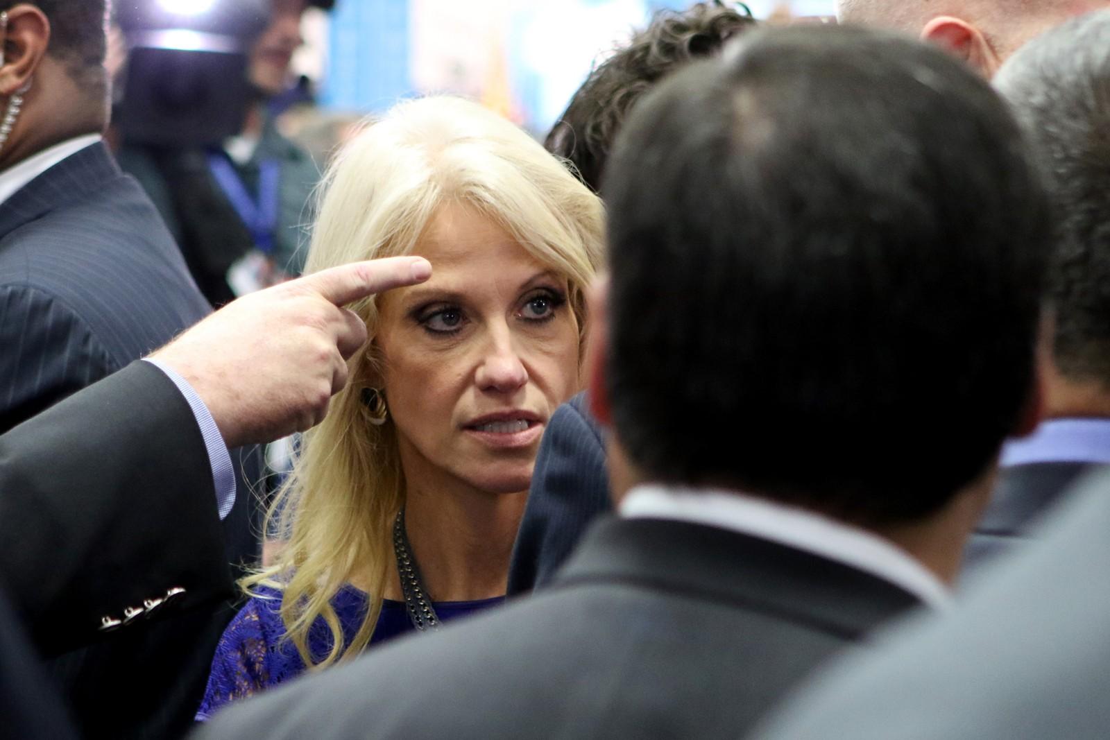 Donald Trumps kampanjesjef Kellyanne Conway.