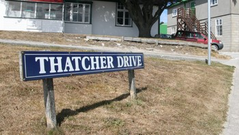 Thatcher Drive i Stanley, Falklandsøyene