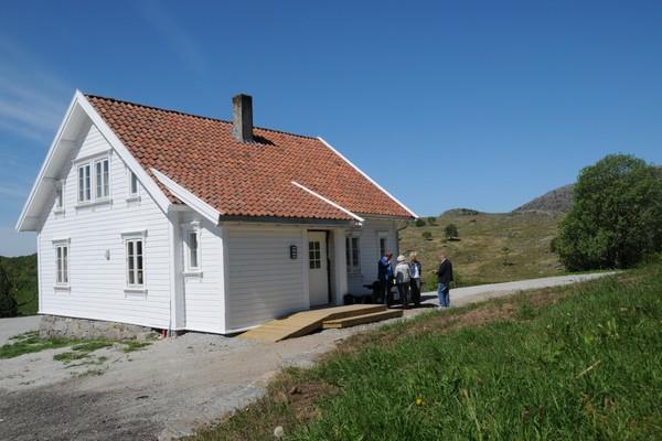 Huset på Gramstad er klar for bruk -  Foto: Kjell Helle-Olsen