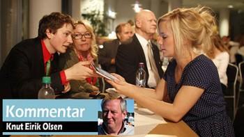 Kommentator Knut Eirik Olsen